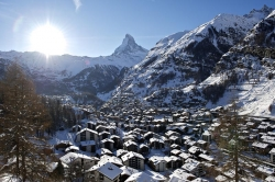 Zermatt - Cervinia - Ortsansicht