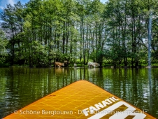 SUP Tour - Flacher See