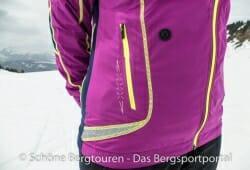 Swix Star XC Jacket - Reissverschlusstasche