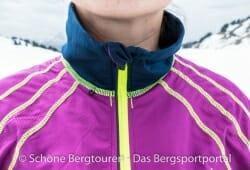 Swix Star XC Jacket - Kragen aus Stretchmaterial