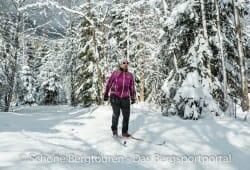 Swix Star XC Jacket - Verschneiter Wald