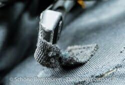 Tatonka Yukon 50 Trekkingrucksack - Abgenutztes Gurtband