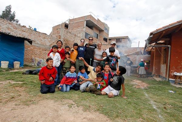 Peru - Cajamarca - Ceta Gruppenfoto