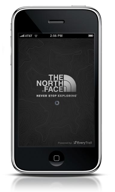 The North Face Trail App - Home