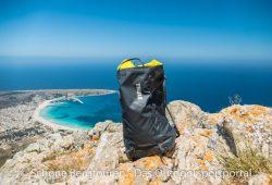 Thule Stir 35L Wanderrucksack - Oberhalb von San Vito Lo Capo