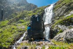 Thule Stir 35L Wanderrucksack - Wasserfall im Mairatal