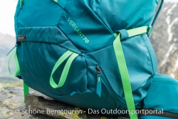 Thule Versant 70L Trekkingrucksack - Materialschlaufe