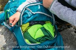 Thule Versant 70L Trekkingrucksack - Zugriff auf Hauptfach