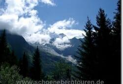Blick zum Glacier de Bionassay