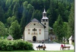 Notre Dame de la Gorge in Les Contamines