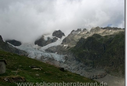 Blick zum Petit Mont Blanc