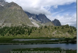 Blick auf den Lac de Combal