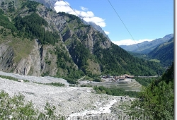 Der Eingang des Mont Blanc Tunnels