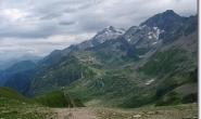 Rueckblick zu den Lacs Jovet und Mont Tondu
