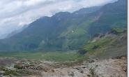 Blick vom Col des Fours (auf 2665m Hoehe)