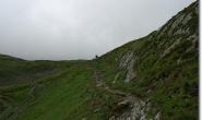 Rueckblick in Richtung Col de la Seigne