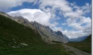 Oberhalb des Val Veni