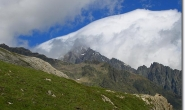 Blick in Richtung Petit Mont Blanc