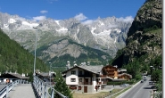 In Courmayeur