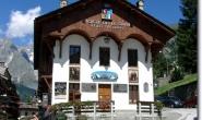 Das Haus der Societa delle Guide di Courmayeur