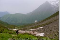 Beim Aufstieg zum Col de Tricot