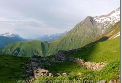 Blick vom Col de Tricot zum Mont Lachat