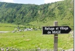 Refuge et Village de Miage