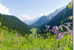 Rückblick ins Tal