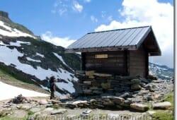Schutzhütte am Col du Bonhomme