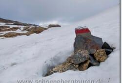 Altschneefeld am Col des Fours