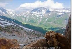 Ausblick vom Col des Fours