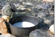 Gekühlte Milch