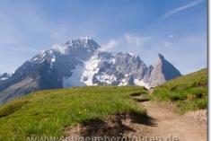 Mont Blanc de Courmayeur  und Aiguille Noire de Peuterey