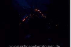 Mont Blanc Tunnel bei Nacht