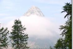 Mont Chétif am Morgen