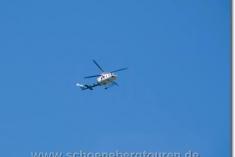 Helikopter über dem Val Ferret