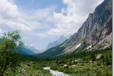 Rückblick im Val Ferret