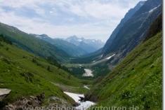 Rückblick ins Val Ferret
