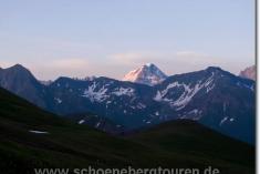 Abenddämmerung in der Schweiz
