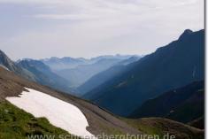 Blick ins schweizerische Val Ferret