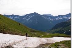 Beim Abstieg zur Alpage de la Peule