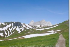 Rückblick zum Grand Col Ferret