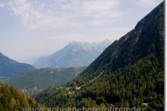 Aussicht von der Alpe an den Plan de L´Au
