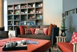 Travel Charme Bergresort Werfenweng - Bibliothek in Lobby