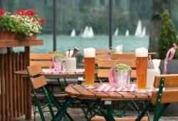 Travel Charme Fuerstenhaus Am Achensee - Biergarten