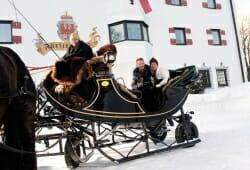 Travel Charme Fuerstenhaus Am Achensee - Kutsche im Winter