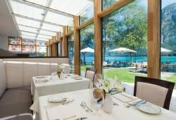 Travel Charme Fuerstenhaus Am Achensee - Restaurant mit Ausblick
