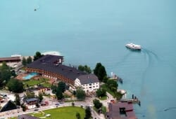 Travel Charme Fuerstenhaus Am Achensee - Vogelperspektive