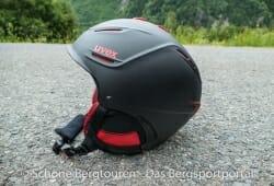 Uvex P1us Pro Skihelm - Seitenansicht