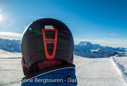 Uvex P1us Pro Skihelm - Franzoesische Alpen